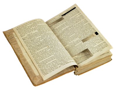 Original Source Bible - Source: http://americanhistory.si.edu/jeffersonbible/